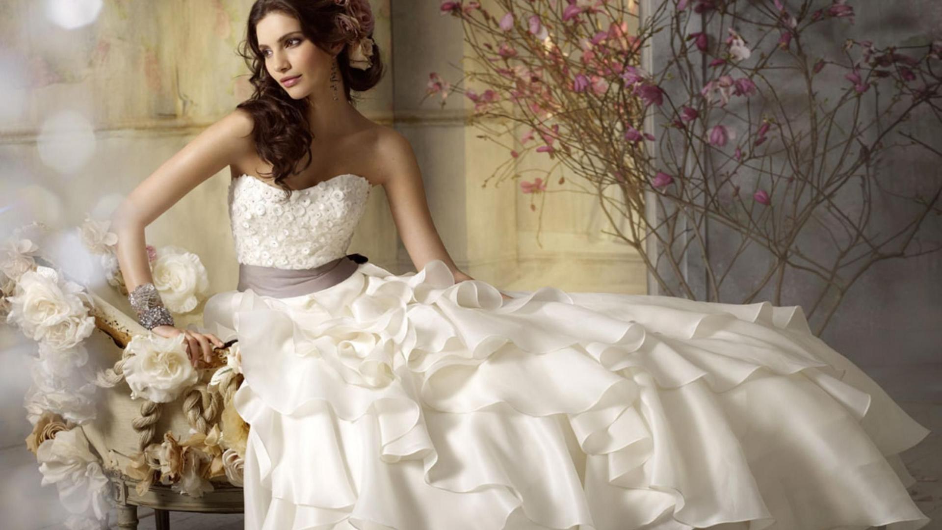 White Wedding Dress For Women Wallpaper U2013 Cathie U0027s Creative